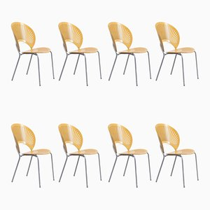 Danish 3258 Dining Chairs by Nanna Ditzel for Fredericia, 1980s, Set of 8