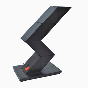 ZigZag Table Lamp by Shui Chan for Z Lite, 1980s