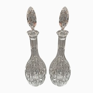 Crystal Carafes from Baccarat, 1930s, Set of 2