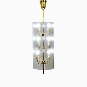 Italian Ceiling Lamp by Pietro Chiesa for Fontana Arte, 1930s