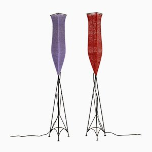 Floor Lamps, 1960s, Set of 2