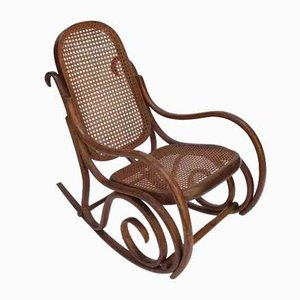 Vintage Rocking Chair from Thonet