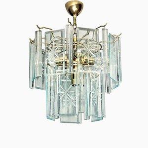 Mid-Century Modern Triedri Ceiling Lamp, 1970s