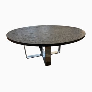 Vintage French Coffee Table by Inconnue