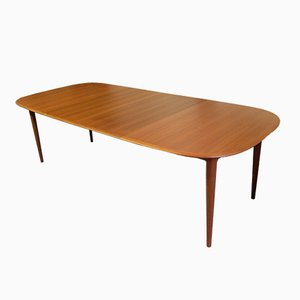 Extendable Dining Table by Kai Kristiansen for Skovmand and Andersen, 1960s