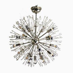 Vintage Snowball Sputnik Deckenlampe von Emil Stejnar für Rupert Nikoll, 1950er