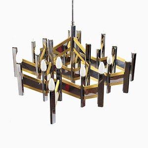 Large Ceiling Lamp by Gaetano Sciolari for Sciolari, 1970s