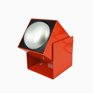 Red Cube Sconce from Lita, 1960s