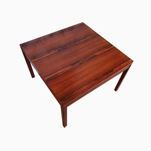 Square Rosewood Side Table from Heggen, 1974