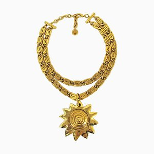 Sun Motif Pendant from Givenchy, 1980s