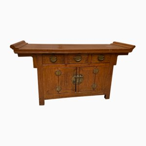 Antique North China Hotel Console Table, 19th Century