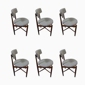 Esszimmerstühle von Ib Kofod Larsen für G Plan, 1970er, 6er Set