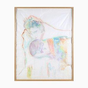 Ulla Von Brandenburg, Spectre I, Aquarelle sur Papier Plié