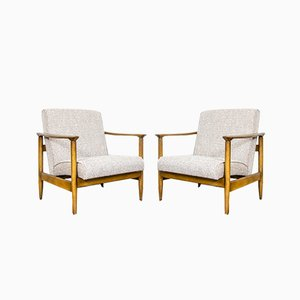 GFM-142 Armchairs by Edmund Homa for GFM, 1960s, Set of 2