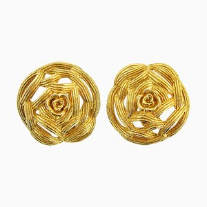 Clip-On Earrings from Christian Dior, 1980s, Set of 2
