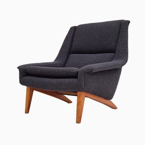 Danish Armchair by Folke Ohlsson for Fritz Hansen, 1960s