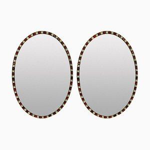 Georgian Style Irish Mirrors, 1970s, Set of 2