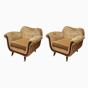 Vintage Armchairs by Guglielmo Ulrich, Set of 2