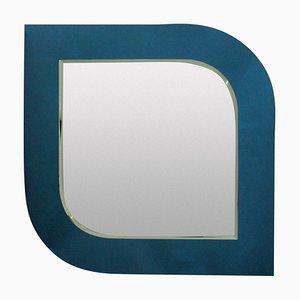 Italienischer Blauer Spiegel, 1950er