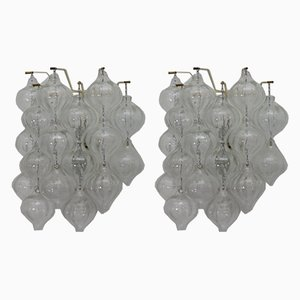 Tulipan Sconces by J. T. Kalmar, 1960s, Set of 2