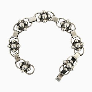 Silver Bracelet by Sven Erik Högberg, 1952