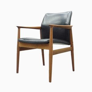 Chaise de Bureau par Grete Jalk pour Glostrup, Danemark, 1960s