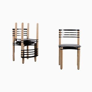 Dining Chairs by Kurt Thut for Dietiker, 1980s, Set of 6