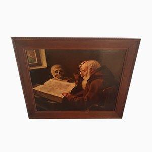 Painting holandés, Old Man Reading