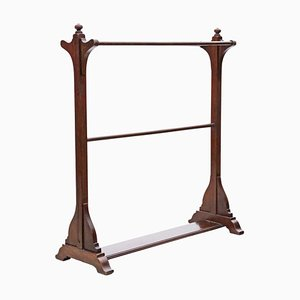 Antique Mahogany Rack