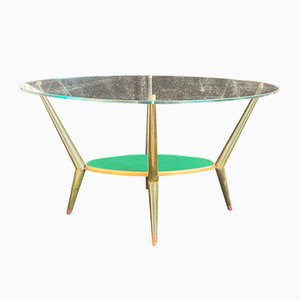 Italian Coffee Table by Cesare Lacca, 1950s