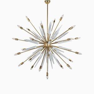 Vintage Murano Glass Sputnik Ceiling Lamp