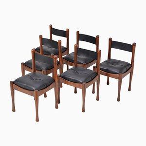 Mid-Century Italian Dining Chairs by Silvio Coppola for Bernini, Set of 6