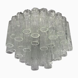 Large Chandelier in Murano Glass from Barovier & Toso, 1960s