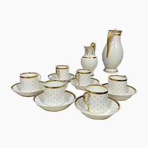 19th Century Porcelain Tableware Set, Set of 14