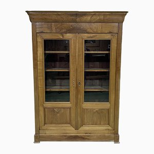 Louis Philippe Style Cherry Wood Library