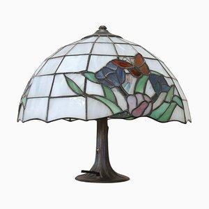 Tiffany Style Table Lamp, 1980s