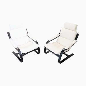 Swedish Kroken Lounge Chairs by Ake Fribytter for Nelo Möbel, 1970s, Set of 2