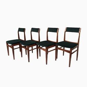Polish Dining Chairs from Olsztyńskie Fabryki Mebli, 1960s, Set of 4