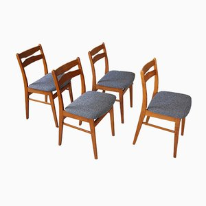 Teak Dining Chairs from Findahls Möbelfabrik, 1960s, Set of 4