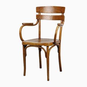 Antiker Armlehnstuhl aus Bugholz von Michael Thonet