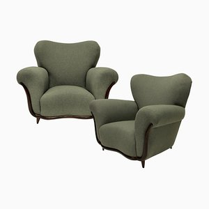 Armchairs by Guglielmo Ulrich, 1940s, Set of 2