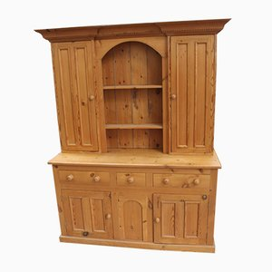 Large Country Farmhouse Pine Dresser, 1960s
