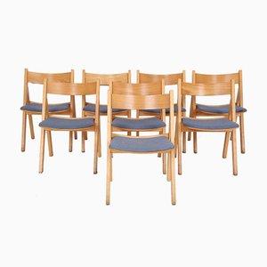 Dänische GE72 Esszimmerstühle von Hans J. Wegner für Getama, 1970er, 8er Set