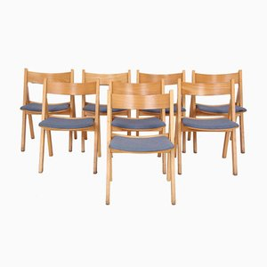 Danish GE72 Dining Chairs by Hans J. Wegner for Getama, 1970s, Set of 8