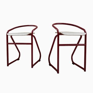 Side Chairs, 1980s, Set of 2