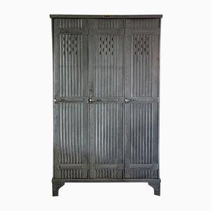 Metal Locker Cabinet from Strafor, 1930s