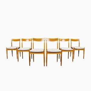200-206 Dining Chairs from Fabryka Mebli Giętych w Jasienicy, 1960s, Set of 6