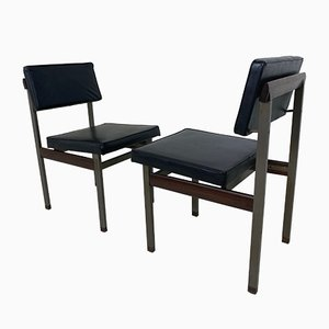 Dining Table & Chairs Set by Louis van Teeffelen for WéBé, 1960s, Set of 5