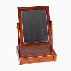 Antique Walnut Vanity Mirror