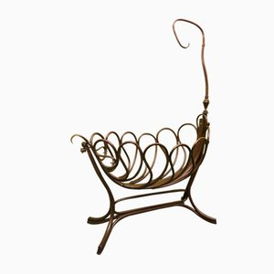 Antique Cradle by Michael Thonet for Thonet